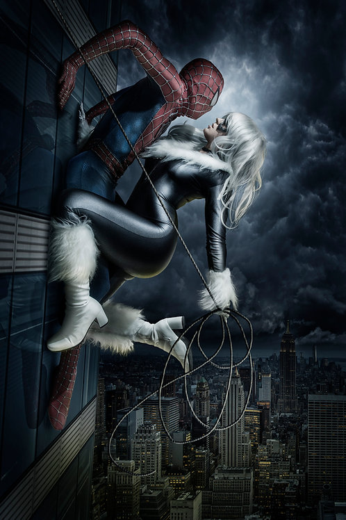 Black Cat + Spidey