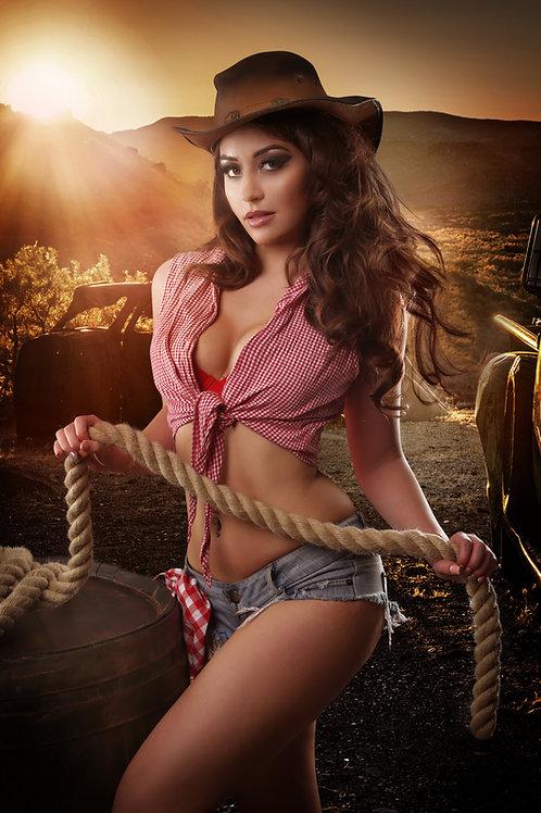 Cowgirl Tabby