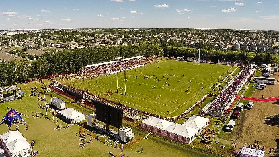Edmonton International Sevens rugby festival in Edmonton, Alberta