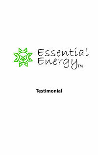 """Listen to a satisfied customer share how he benefits from Essential's subtle energy tech in the 5"""" LightTower"""