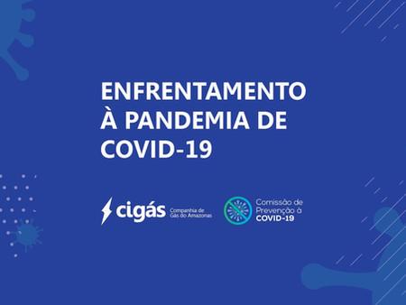 Cigás adota medidas de enfrentamento à pandemia