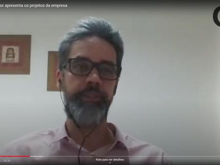 Diretor Técnico-comercial da Cigás trata de ações estratégicas da Companhia em entrevista à revista
