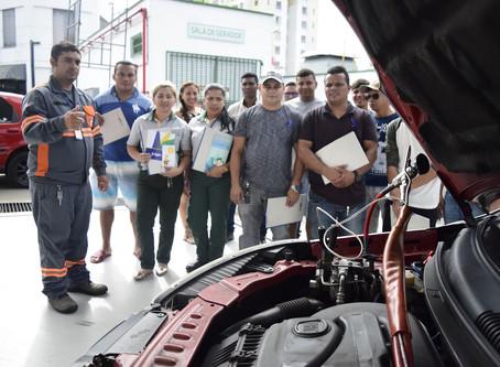 Cigás treina frentistas para garantir segurança do GNV