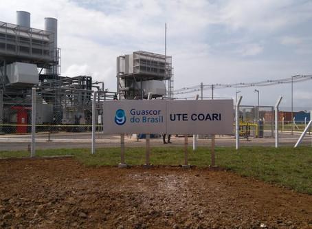 Com gás natural, usina atende 100% de Coari e reduz emissões