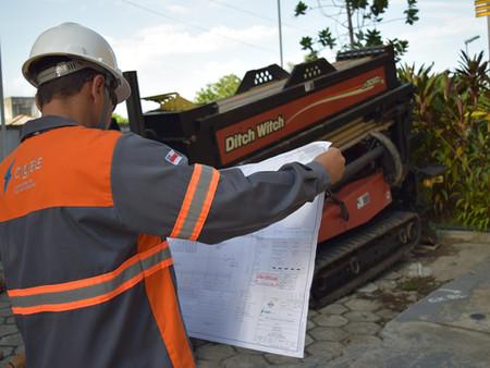 Cigás realiza obras para ampliar distribuição do gás natural