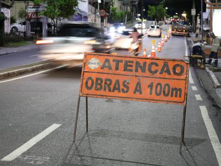 Implantação da rede de gás natural avança no Vieiralves