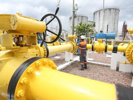 Consumo médio de gás natural registra melhor desempenho em 10 anos