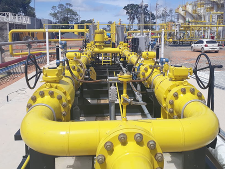Estação de medição está apta para operação no projeto de exploração do gás natural, em Silves