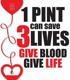Reminder: Blood Drive Tomorrow!
