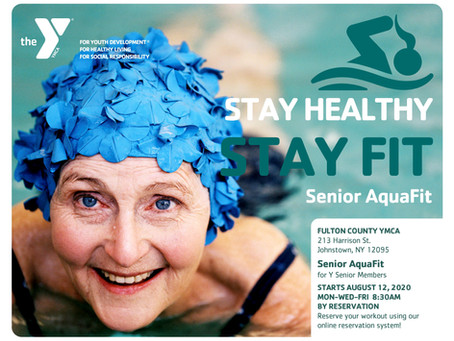 Senior AquaFit Reservations Now Available!