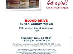 Give a Pint, Get a Pint- Blood Drive