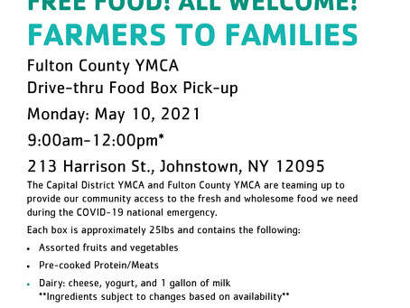 Volunteers Needed for Farmers to Families Food Box Program