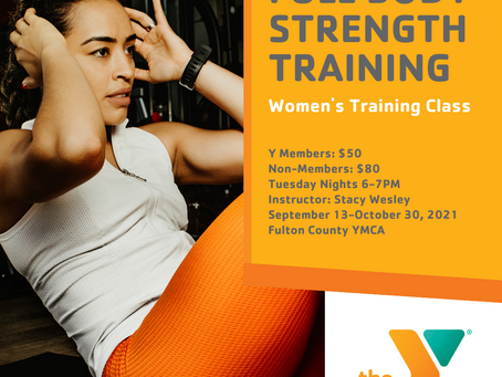 Women's Full Body Strength Training Class Added