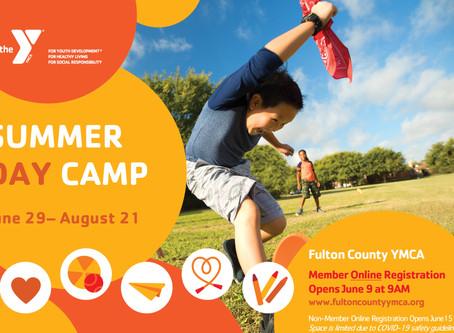 Summer Day Camp Begins June 29