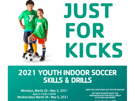 Change Made to Soccer Program- Additional Slot Added for Ages 5-7