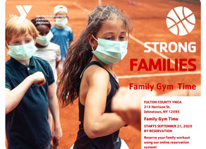 Family Gym Time Starts Monday!