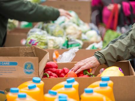 Community Mass Food Distribution