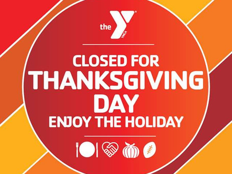 Closed for Thanksgiving Day