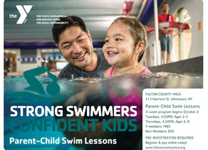 Parent-Child Swim Lessons Begin October 6th