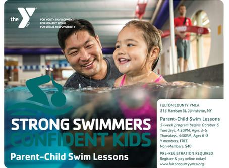 Parent-Child Swim Lessons Begin October 6th