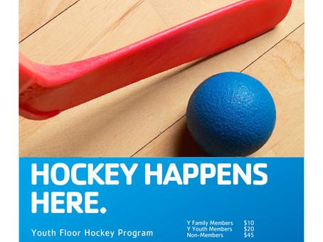 Youth Floor Hockey Begins February 13th
