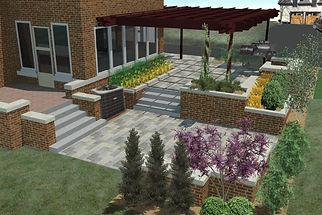 Landscape, Design-Build, Landscaping, Bar, Outdoor Kitchen, Sun Room, 4 Seasons Room, Patio, Johnston, Urbandale, Ankeny, Fire Pit, Iowa, IA