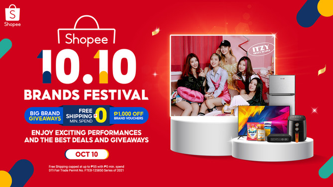 10 Exciting Things to Look Forward to at 10.10 Brands Festival, Shopee's Biggest Brands Sale