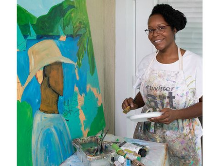 Painter Belina Wright On The Influence of Heritage