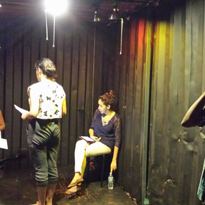 M.J. Fievre presents a play at O, Miami Theater