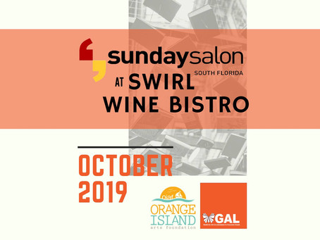 Sunday Salon at Swirl Wine Bistro on 10.27.19