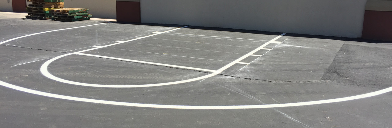 School Basketball Court : Stripe.JPG