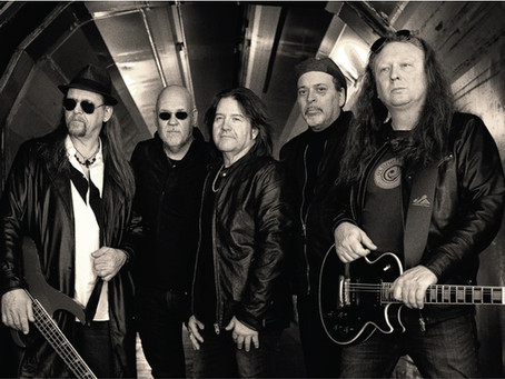 Swedish hard rock band, EYES featuring members from legendary Swedish band Aces High!