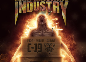 """ICE AGE and MAN MACHINE INDUSTRY join forces in a new song called """"COVID-19 (Fight, Endure, Sur"""