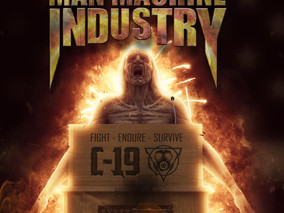 "ICE AGE and MAN MACHINE INDUSTRY join forces in a new song called ""COVID-19 (Fight, Endure, Sur"
