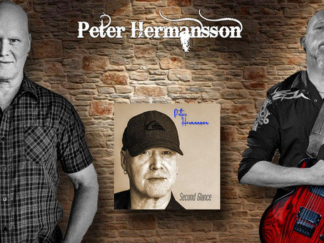 Swedish rock musician, PETER HERMANSSON (220 Volt), has announced the release of his new solo album