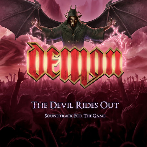 Demon - The Devil Rides Out DIGIPACK CD