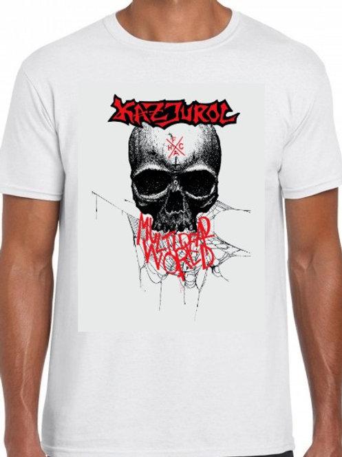 Kazjurol - Multi Dead World T-Shirt WHITE