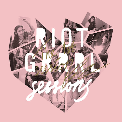 Riot Grrrl Sessions - The 1st Sessions  Black Vinyl