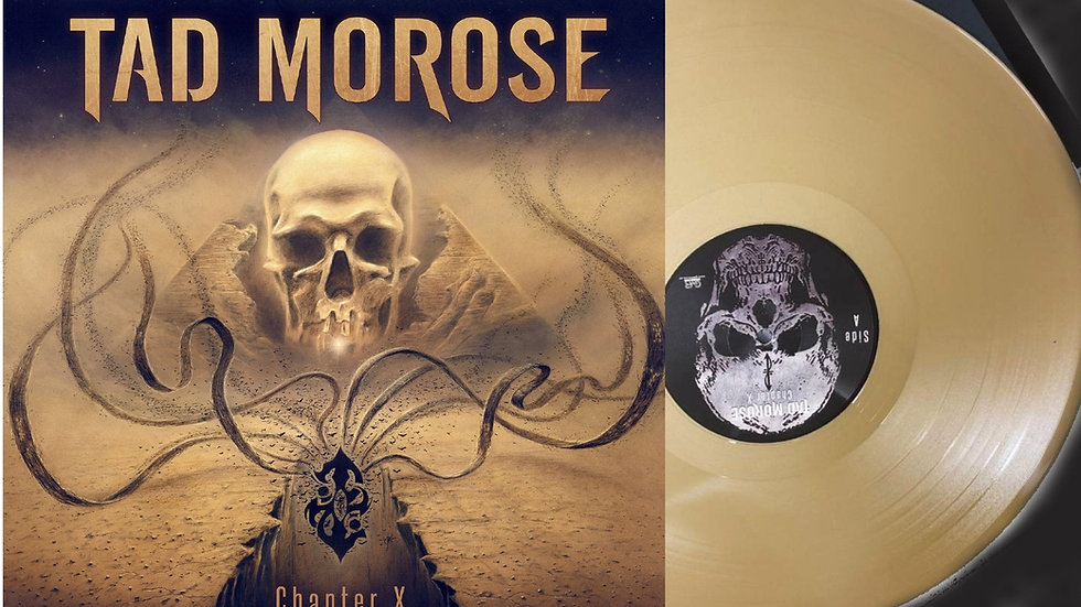 Tad Morose - Chapter X   2LP Gold Vinyl