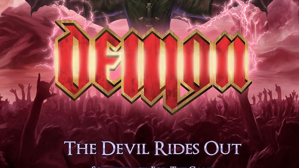 Demon  - The Devil Rides Out (Soundtrack for the game) CD