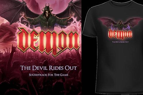 Demon - The Devil Rides out Digipack CD+LTD T-SHIRT