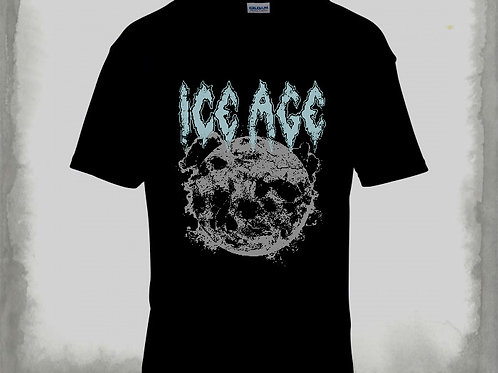Ice Age - Globe T-SHIRT BLACK