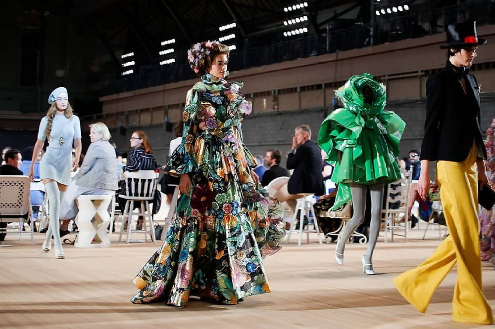 Marc Jacobs's runway shows continue to be a celebration of fashion's artistry.Photo: Getty Images