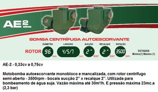 AE-2 0,33cv - 0,75cv