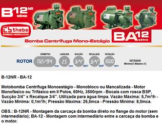B-12NR e BA-12