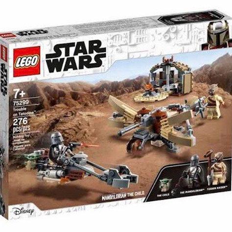 LEGO 75299 PROBLEMAS EN TATOOINE