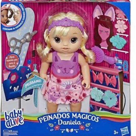 BABY ALIVE PEINADOS MÁGICOS