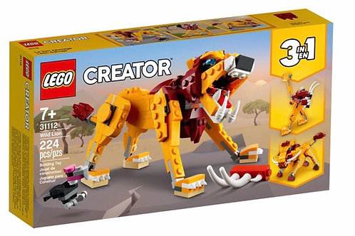 LEGO 31112 LEON SALVAJE CREATOR