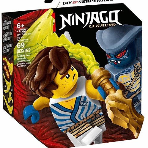 LEGO 71732 JAY VS SERPENTINE
