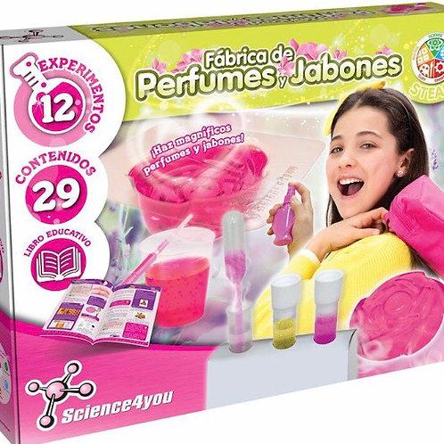 FÁBRICA DE PERFUMES Y JABONES SCIENCE4YOU